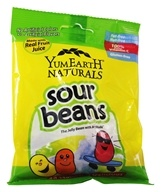 Yummy Earth - All Natural Gluten Free Sour Jelly Beans - 2.5 oz. (810165015456)