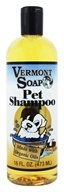 Vermont Soapworks - Organic Pet Shampoo - 16 oz., from category: Pet Care