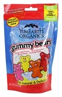 Yummy Earth - Organic Gluten Free Gummy Bears - 4 oz., from category: Health Foods