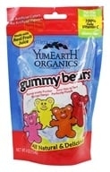 Image of Yummy Earth - Organic Gluten Free Gummy Bears - 4 oz.