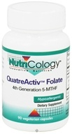 Nutricology - QuatreActiv Folate - 90 Vegetarian Capsules, from category: Vitamins & Minerals