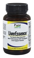 Pure Essence Labs - LiverEssence - 30 Vegetarian Capsules (659670160011)