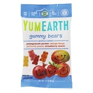 Yummy Earth - Organic Gluten Free Gummy Bears - 2.5 oz. (810165015500)