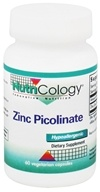 Nutricology - Zinc Picolinate 25 mg. - 60 Vegetarian Capsules, from category: Vitamins & Minerals