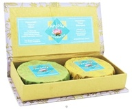 Image of Anjolie Ayurveda - Sweet Lime Cardamom and Neroli Lemon Soap Citrus Gift Box - CLEARANCE PRICED