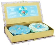 Image of Anjolie Ayurveda - Neem Tulsi and Sandalwood Saffron Soap Therapeutic Gift Box