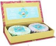 Image of Anjolie Ayurveda - Sandalwood Saffron and Rosemary Lavender Soap Gift Box