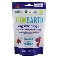 Yummy Earth - Organic Vitamin C Anti-Oxifruits Drops - 3.3 oz. by Yummy Earth