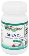 Nutricology - DHEA 25 mg. - 60 Tablets CLEARANCE PRICED