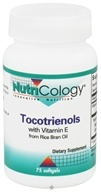 Nutricology - Tocotrienols with Vitamin E - 75 Softgels