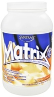 Syntrax - Matrix 2.0 Sustained-Release Protein Blend Orange Cream - 2 lbs. by Syntrax