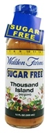 Image of Walden Farms - Sugar Free Salad Dressing Thousand Island - 12 oz.