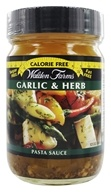 Walden Farms - Calorie Free Pasta Sauce Garlic & Herb - 12 oz. (072457980990)