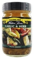 Image of Walden Farms - Calorie Free Pasta Sauce Garlic & Herb - 12 oz.