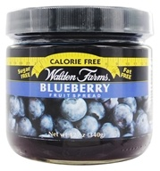Walden Farms - Calorie Free Fruit Spread Blueberry - 12 oz. (072457990555)