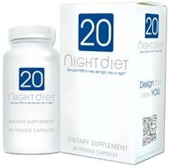 Image of Creative BioScience - 20 Night Diet with Caralluma Fimbriata - 40 Vegetarian Capsules CLEARANCE PRICED