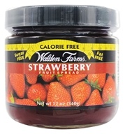 Walden Farms - Calorie Free Fruit Spread Strawberry - 12 oz. (072457990227)