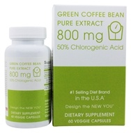 Creative BioScience - Green Coffee Bean Pure Extract 800 mg. - 60 Vegetarian Capsules - $22.99