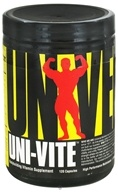 Image of Universal Nutrition - Uni-Vite High Performance Multivitamin - 120 Capsules
