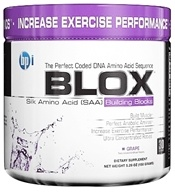 BPI Sports - Blox Silk Amino Acid Building Blocks - 30 Servings Grape - 150 Grams