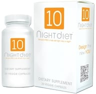 Creative BioScience - 10 Night Diet with Caralluma Fimbriata - 20 Vegetarian Capsules, from category: Diet & Weight Loss