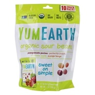 Yum Earth - All Natural Gluten-Free Sour Jelly Beans - 10 Pack(s)