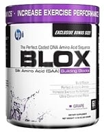BPI Sports - Blox Silk Amino Acid Building Blocks Bonus Size - 60 Servings Grape - 300 Grams by BPI Sports