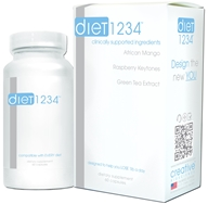 Creative BioScience - Diet 1234 - 60 Capsules CLEARANCE PRICED (816907010109)
