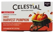 Celestial Seasonings - Sweet Harvest Pumpkin Holiday Black Tea - 20 Tea Bags