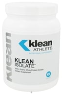 Klean Athlete - Klean Isolate Whey Protein Isolate Powder - 444.4 Grams (310539038413)