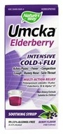 Image of Nature's Way - Umcka Elderberry Intensive Cold and Flu Soothing Syrup - 4 oz.