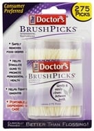 Doctor's - BrushPicks Interdental Toothpicks - 275 Pick(s) (042037101442)