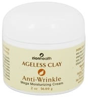 Zion Health - Ageless Clay Anti-Wrinkle Mega Moisturizing Cream - 2 oz., from category: Personal Care