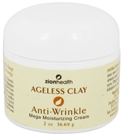 Zion Health - Ageless Clay Anti-Wrinkle Mega Moisturizing Cream - 2 oz. by Zion Health