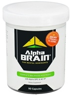 Onnit - Alpha Brain for Mental Dominance - 90 Capsules by Onnit
