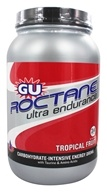 GU Energy - Roctane Ultra Endurance with Caffeine Canister Tropical Fruit - 1.56 kg. by GU Energy