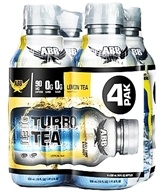 ABB Performance - Diet Turbo Tea Lemon 18 oz. - 4 Pack by ABB Performance