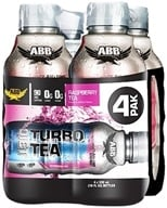 ABB Performance - Diet Turbo Tea Raspberry 18 oz. - 4 Pack by ABB Performance