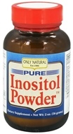 Image of Only Natural - Pure Inositol Powder - 2 oz.