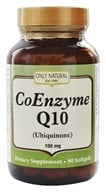 Only Natural - CoEnzyme Q10 100 mg. - 90 Softgels (727413008279)