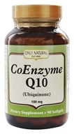 Only Natural - CoEnzyme Q10 100 mg. - 90 Softgels, from category: Nutritional Supplements