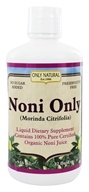 Only Natural - Organic Noni Only Juice - 32 oz. by Only Natural