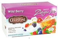 Celestial Seasonings - Sweet Zinger Ice Herbal Tea Caffeine Free Wild Berry - 20 Tea Bags DAILY DEAL by Celestial Seasonings