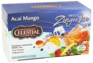 Celestial Seasonings - Sweet Zinger Ice Herbal Tea Caffeine Free Acai - 20 Tea Bags DAILY DEAL by Celestial Seasonings