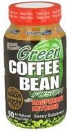 Nutri-Fusion Systems - Green Coffee Bean Fusion with Raspberry Ketones - 90 Vegetarian Capsules (851295004095)