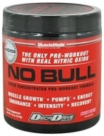 MuscleMeds - NO Bull Super Concentrated Pre-Workout Formula Fruit Punch - 214 Grams by MuscleMeds