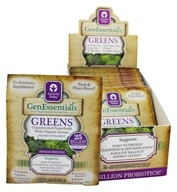 Genesis Today - GenEssentials Greens 25 Billion Probiotics - 15 x 0.5 oz Packets by Genesis Today