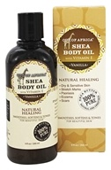 Out Of Africa - Skin Saver Daily Hydrating Body Oil Vanilla - 9 oz.