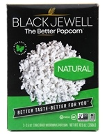 Image of Black Jewell - All Natural Microwave Popcorn 3 Bags Natural Flavor - 10.5 oz.