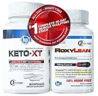 BPI Sports - #1 Complete 30-Day Muscle Sculpting Stack with Keto-XT & RoxyLean